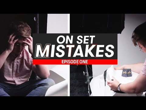 On Set Mistakes - Episode 1: Robbie Ruins A Photoshoot | Filmmaking Tips