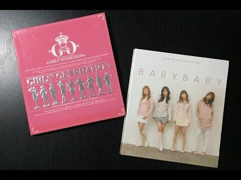 [UNBOXING] Girls' Generation / SNSD Girls' Generation and Girls' Generation Repackage Baby Baby