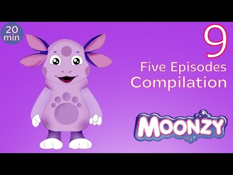 MOONZY (Luntik) - Moonzy Compilation, Session 9 (Five Full episodes) [HD]