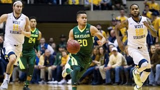 Baylor Basketball (M): Highlights vs. West Virginia