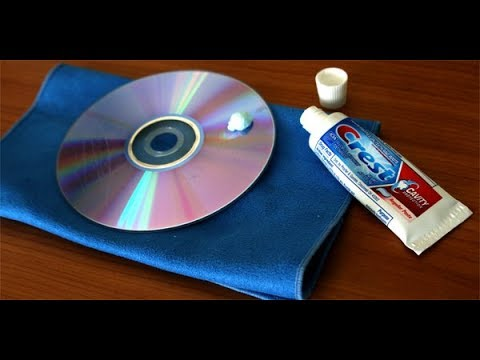 How to clean a cd/dvd/disc