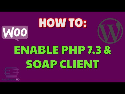 How to enable PHP 7.3 and SOAP Client | WordPress | Woozone | AAWP | Plugins thumbnail