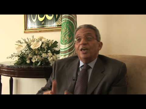 Amre Moussa discusses what U.S. should know about Israeli/Palestinian conflict