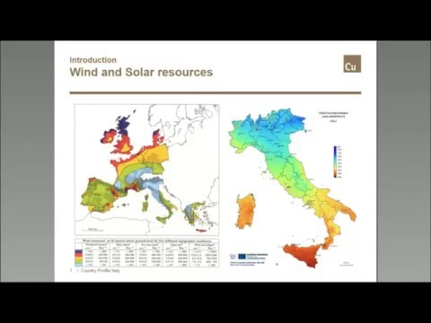 Italy, shifting focus from renewables' towards energy efficiency