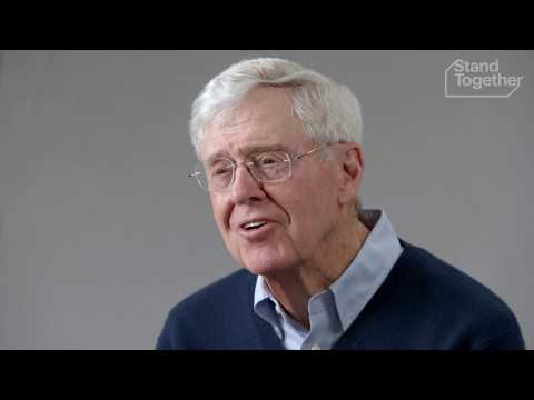 Charles Koch: How To Address The Biggest Challenges of Our Time