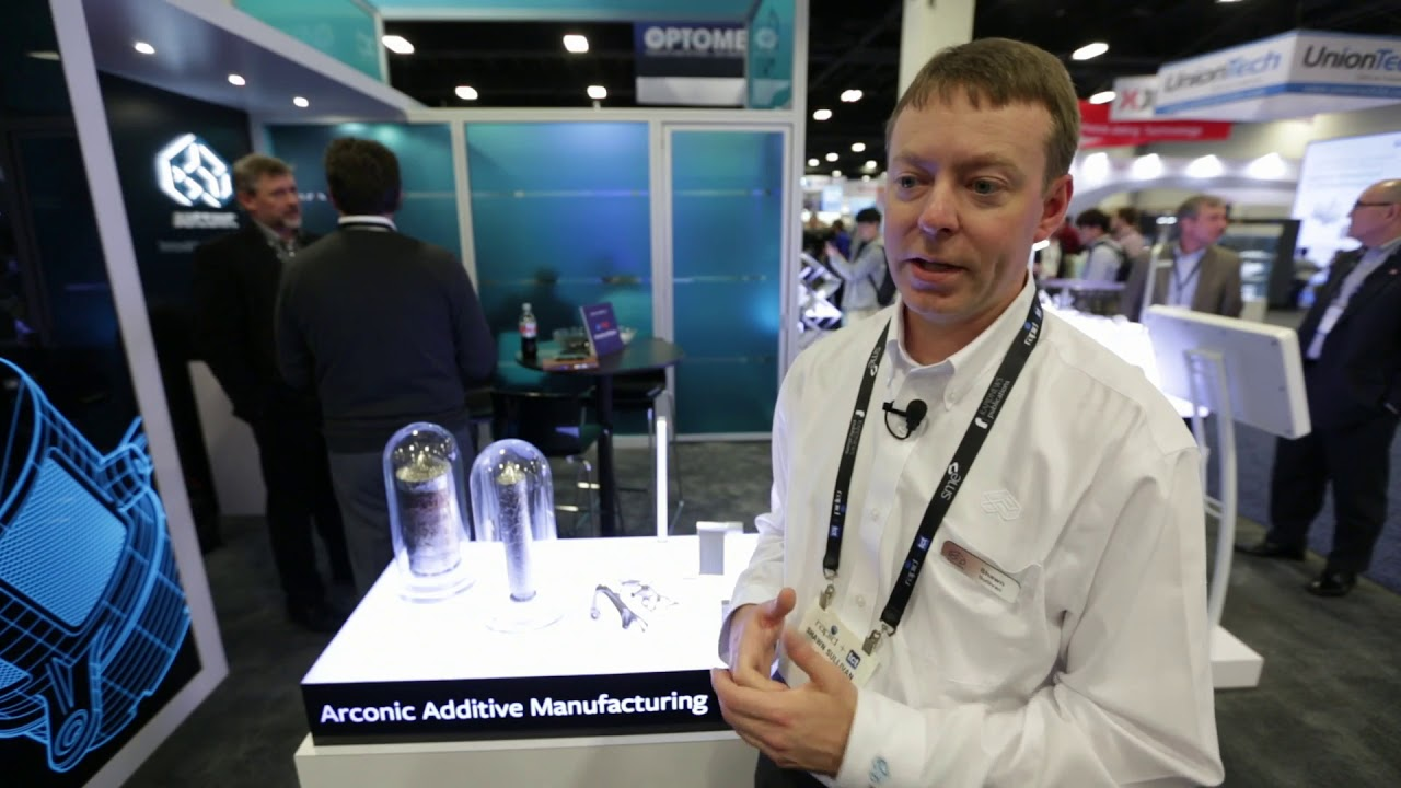RAPID 2018: Arconic's Proprietary Aluminum Alloys for Additive