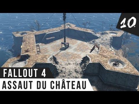 Fallout 4 Gameplay #10 Assaut du Château! FR