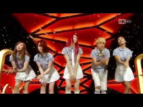 HD   LIVE 130804  f(x) - Rum Pum Pum Pum @ SBS Inkigayo