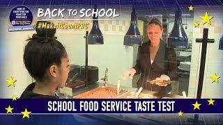School Food Service Taste Test