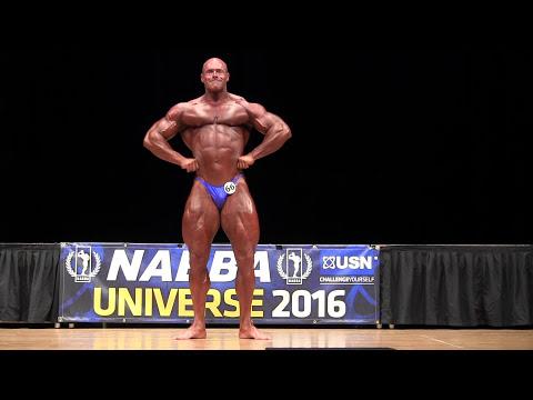 Tony Ellett (UK), NABBA Universe 2016
