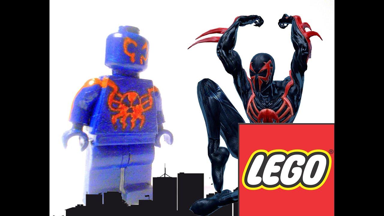 Как сделать лего человека паук