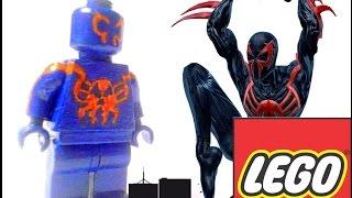 Как сделать LEGO Человека Паука 2099 своими руками.