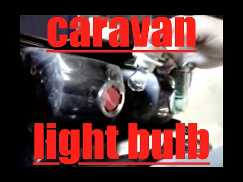 How To Replace Rear Turn Signal Bulb Dodge Caravan  U221a Fix