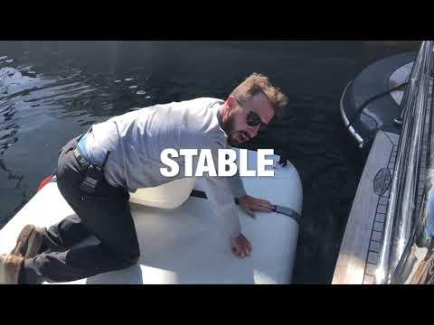 Inflatable working dock rental: NautiBuoy For Maintenance