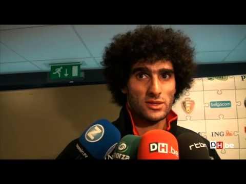 """Fellaini: """"Tout le monde veut continuer avec Marc Wilmots"""""""