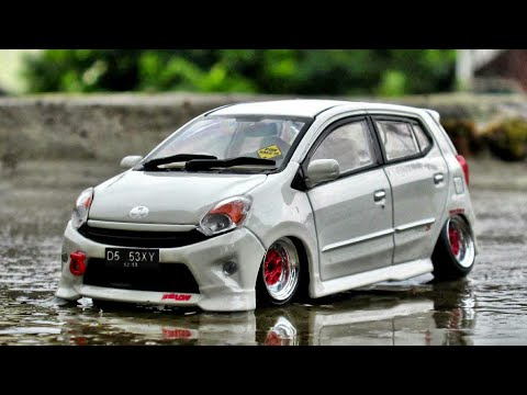 Show Off Test Rolling Toyota Agya Camber Ceper