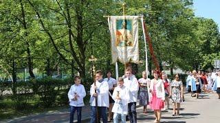 Bo�e Cia�o w parafii pw. �w. Wojciecha w Ostro��ce