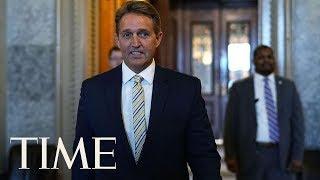 Senator Jeff Flake Likens President Trump's Attacks On Media To Josef Stalin | TIME