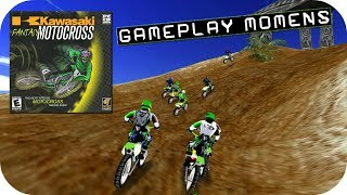 Kawasaki Fantasy Motocross - Terrible Old Racing Game - PC Gameplay HD