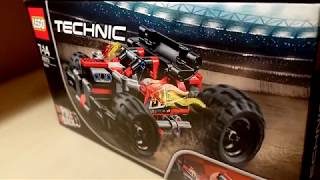 How to build LEGO Technic BASH! [42073] - Build Review