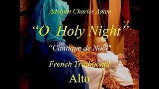 O Holy Night - Alto