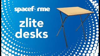 zlite Folding Exam Desks/Tables