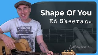 how to play shape of you by ed sheeran guitar lesson tutorial divide