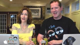 We Try Helium Infused Beer.  Does it really work?  Do our voices change?