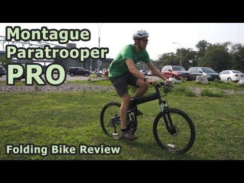 Montague Paratrooper Pro Folding Bike Review