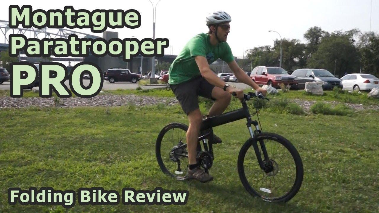 ad73211de3b Montague Paratrooper Pro Folding Bike Review - YouTube