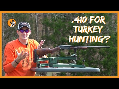 Is a .410 Enough for Turkey Hunting?