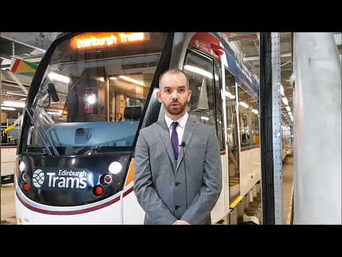 How Edinburgh Trams keep on track