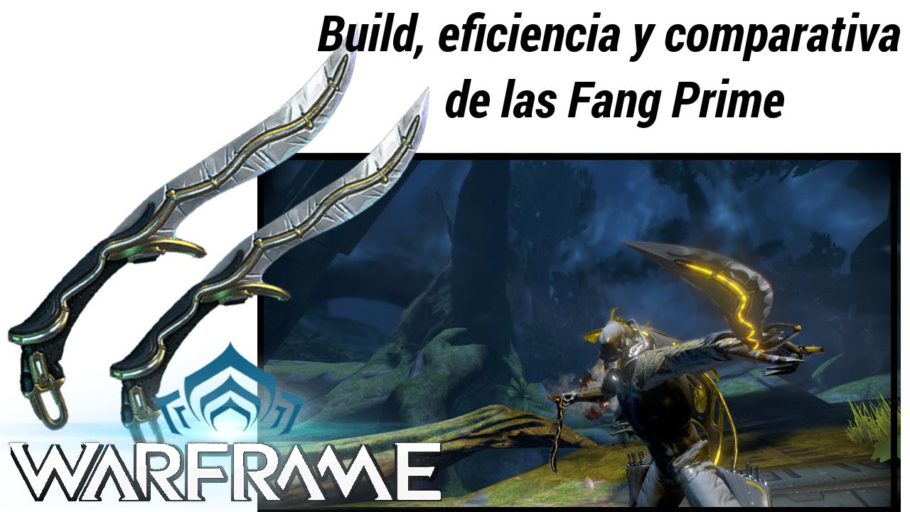 Warframe Fang Prime Build