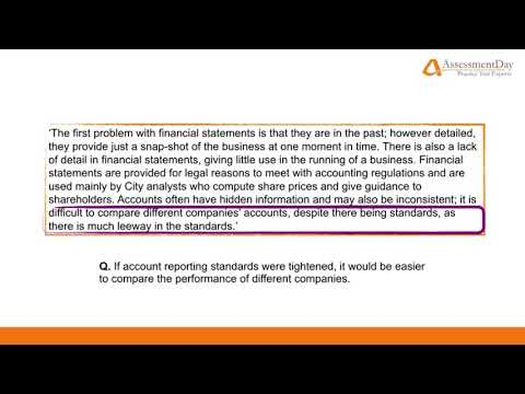 Verbal Reasoning, Free Online Practice Tests