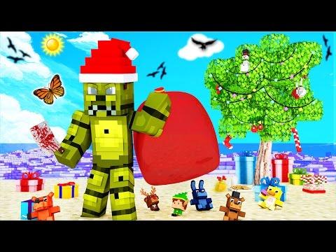 Minecraft - FNAF Island Resort - SPRINGTRAP'S EVIL PLAN?