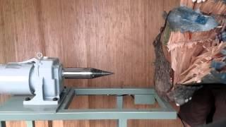 스크류도끼 장작기계 기어드모터 Screw Log Spl…