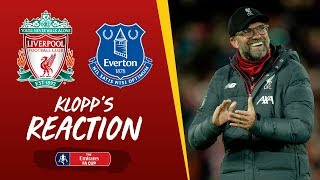 Klopp's Reaction: Minamino debut, Milner injury and much more | Liverpool vs Everton