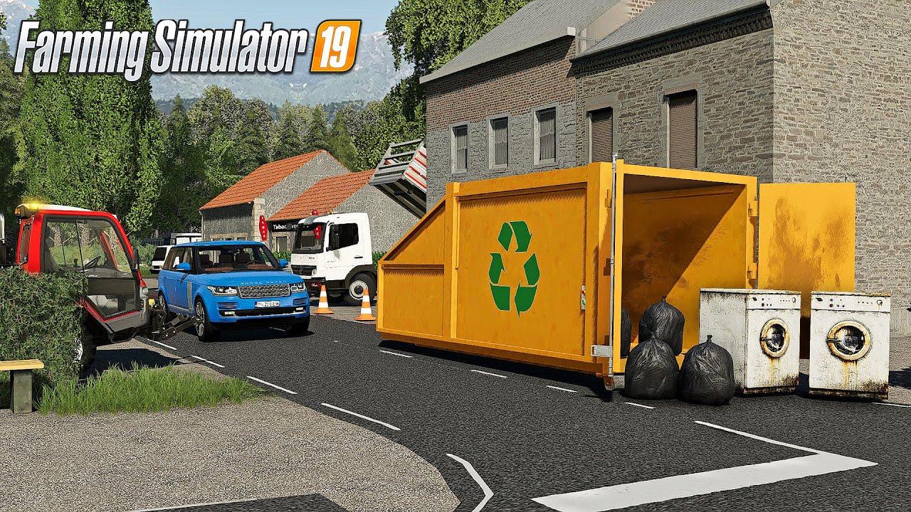 Download Combustion & Compactage des déchets (Nouvelle MAP) | Farming Simulator 19 PAYSAGISTE