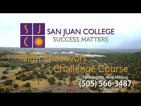 SJC High Endeavors Challenge Course Video