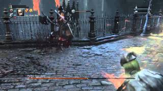 Bloodborne Ng+7 all bosses waste of skin: Father Gascoigne