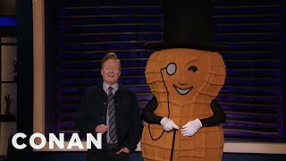 What's Next For Mr. Peanut? - CONAN on TBS