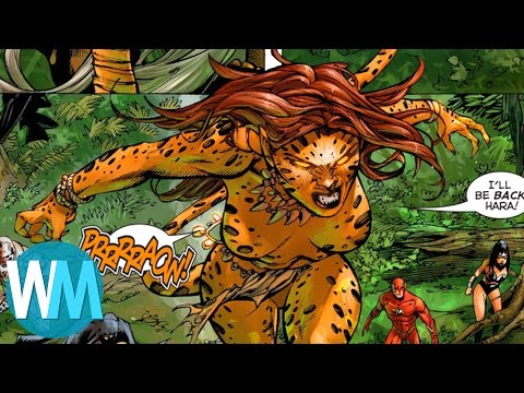 Cheetah: Comic Book Origins