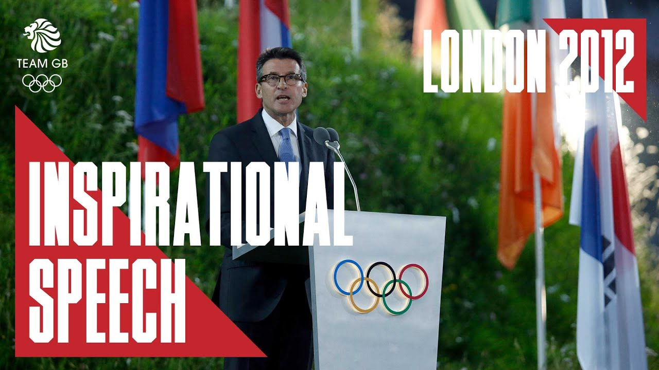 Inspiring Seb Coe speech from London 2012 Olympic Games