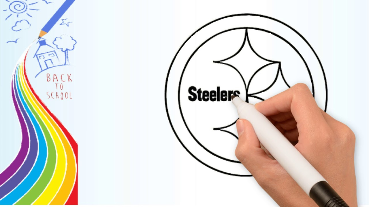 Pittsburgh Steelers Coloring Pages - Coloring Home | 720x1280