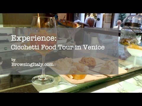 Cicchetti Food Tour in Venice