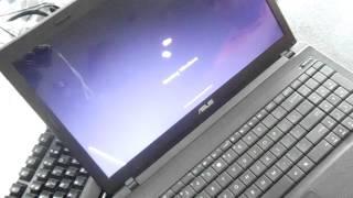Asus restore reinstall Windows reset X54C U43 U43F U46E U47A K53E X54H X44L K501 10 Zenbook Eeebook