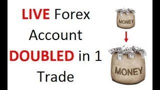 See how I double my LIVE Forex account in 1 trade. Learn how you can do it using OK position sizing