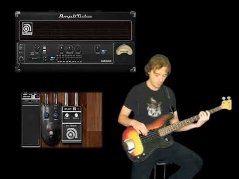 Ampeg SVX Demo - Amplitube