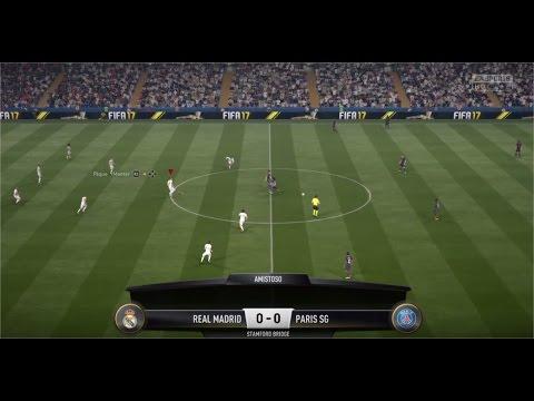 FIFA 2017 [PS4] - Real Madrid vs PSG | Melhor que PES 2017?
