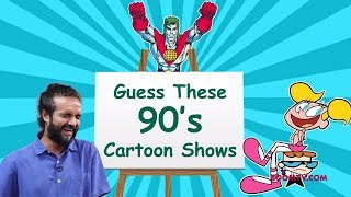 Can You Guess these 90's Cartoon shows? | Pictionary Challenge | Children's Day Special